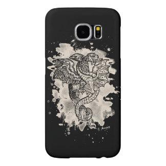Griffon & Dragon bleached white Samsung Galaxy S6 Cases