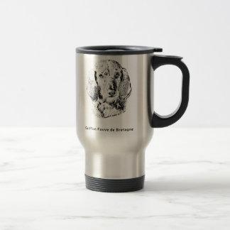 Griffon Fauve de Bretagne Drawing Travel Mug