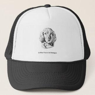 Griffon Fauve de Bretagne Drawing Trucker Hat