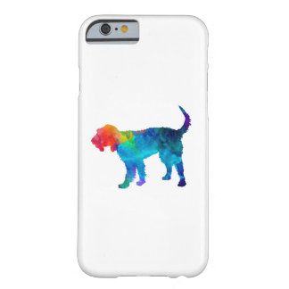 Griffon Nivernais in watercolor Barely There iPhone 6 Case