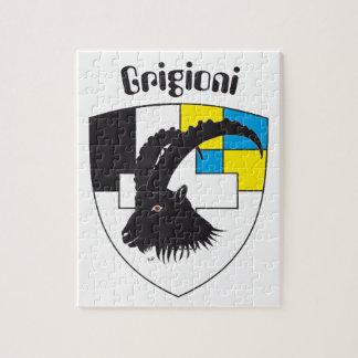 Grigioni Svizzera puzzle