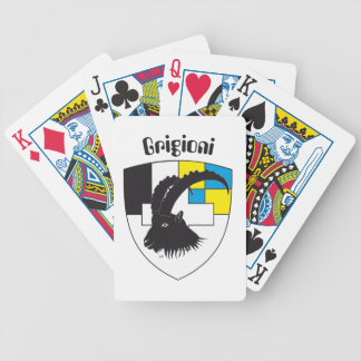 Grigioni Svizzera Spielkarten Bicycle Playing Cards