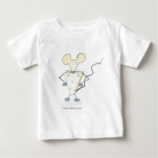 Grignotte, Designed by Plume of Mouse Baby T-Shirt