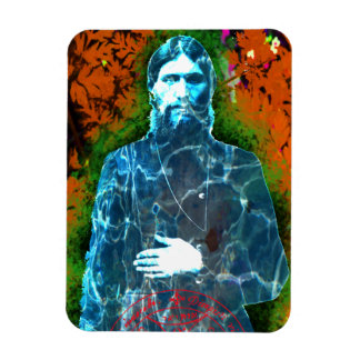Grigori Rasputin Russian Mad Monk Mystic Rectangular Photo Magnet