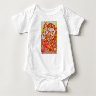 grigori rasputin - watercolor portrait.4 baby bodysuit