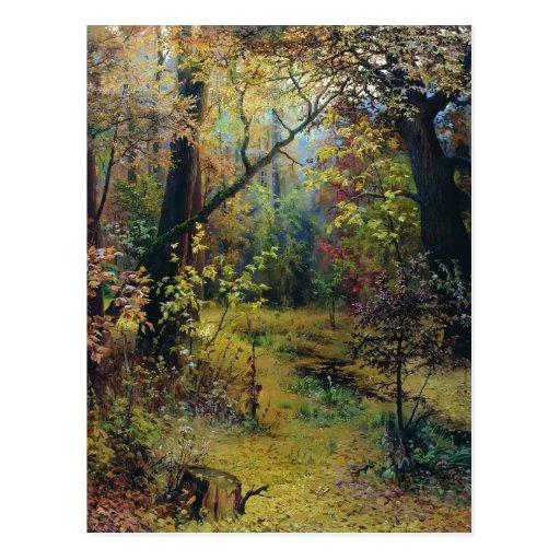 Grigoriy Myasoyedov- Autumn Morning Post Cards