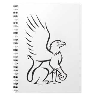 Griiffin Sitting Side Retro Notebooks