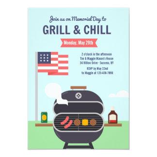 Grill and Chill Invitation