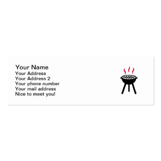 Grill BBQ Business Card Templates