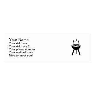 Grill BBQ Business Card Template