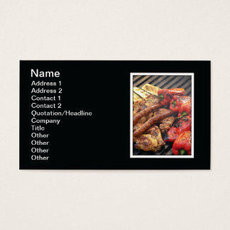 Grill Business Card
