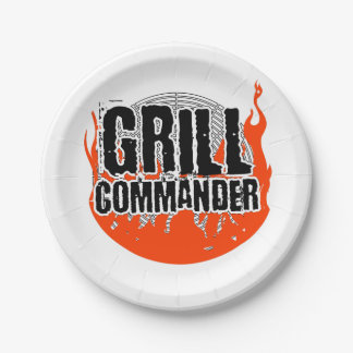 Grill Commander BBQ Barbecue Cooking Paper Plate