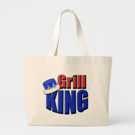 Grill King Barbeque Gift Tote Bags