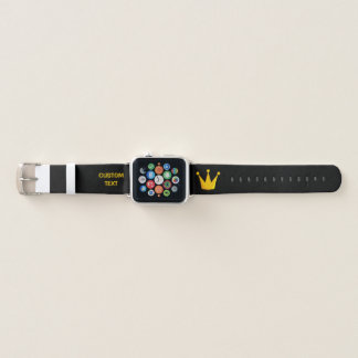Grill King Crown Apple Watch Band
