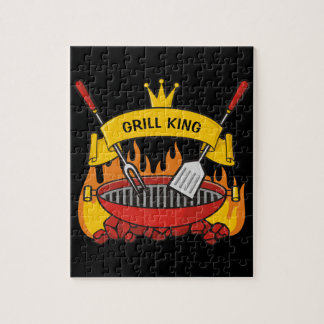 Grill King Jigsaw Puzzle