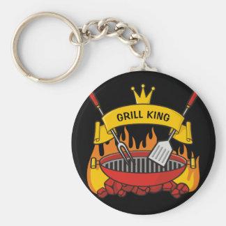 Grill King Key Ring