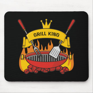 Grill King Mouse Pad