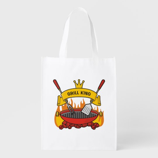 Grill King Reusable Grocery Bag