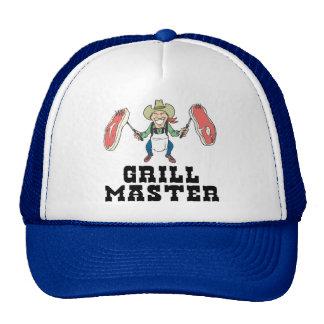 Grill Master Cowboy Mesh Hat