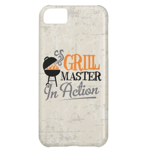 Grill Master In Action iPhone 5C Cover
