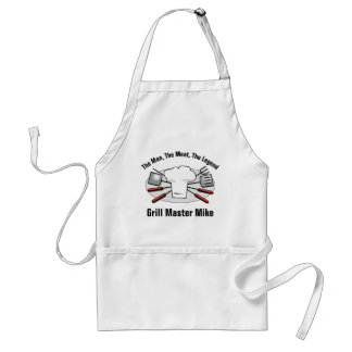 Grill Master Personalized Standard Apron
