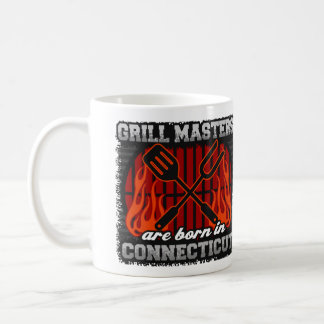 Grill Masters are Born in Connecticut Coffee Mug