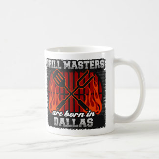 Grill Masters are Born in Dallas Coffee Mug