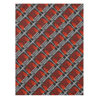 Grill Masters Are Born In December BBQ Birthday Tablecloth