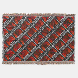 Grill Masters Are Born In December BBQ Birthday Throw Blanket