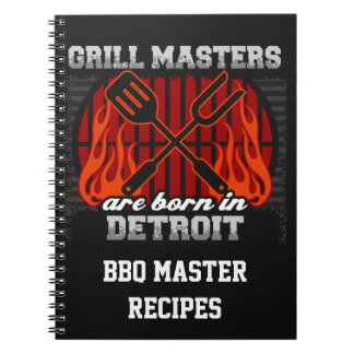 Grill Masters Are Born In Detroit Michigan Notebook