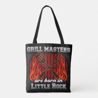 Grill Masters Are Born In Little Rock Arkansas Tote Bag