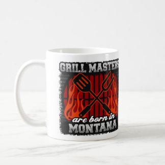 Grill Masters are Born in Montana Coffee Mug
