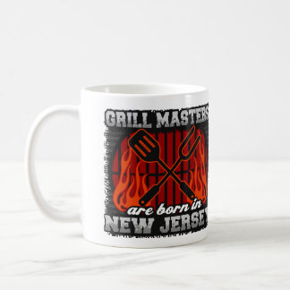 Grill Masters are Born in New Jersey Coffee Mug