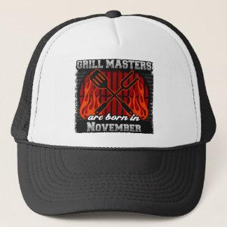 Grill Masters are Born in November Cap