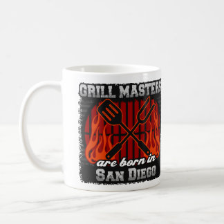 Grill Masters Are Born In San Diego California Coffee Mug