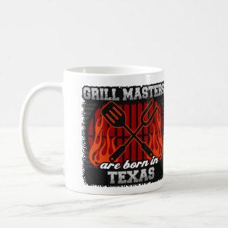 Grill Masters are Born in Texas Coffee Mug