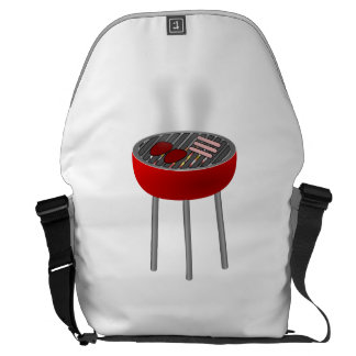 Grill Messenger Bags
