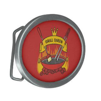 Grill Queen Belt Buckle