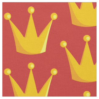 Grill Queen Crown Fabric
