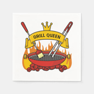 Grill Queen Disposable Napkins