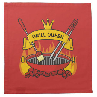 Grill Queen Napkin