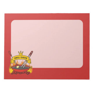 Grill Queen Notepad