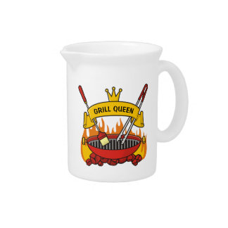 Grill Queen Pitcher
