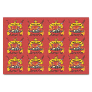 Grill Queen Tissue Paper