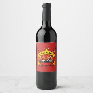 Grill Queen Wine Label