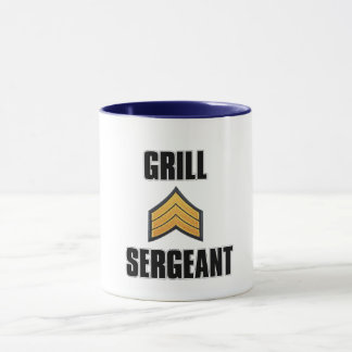 grill seargent dad father's day gift idea mug bbq