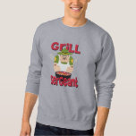 Grill Sergeant Embroidered Sweatshirt