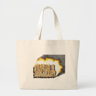 GRILL SERGEANT Father s Day Tote Bag