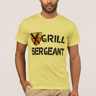 Grill Sergeant Products T-Shirt