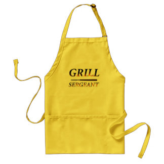 Grill Sergeant with tools Standard Apron